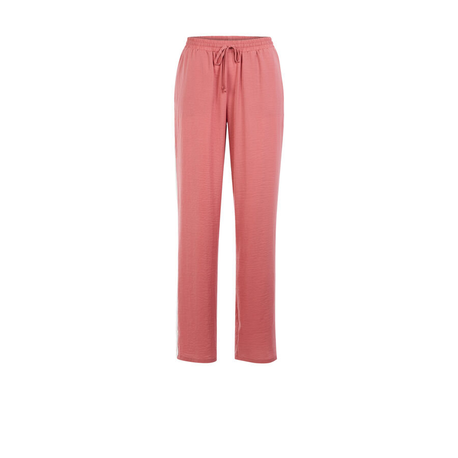 Pantalón rosa palo wixiz;${refinementColor}