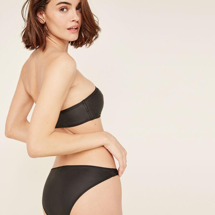 Top de bikini sin tirantes negro australiz черный.