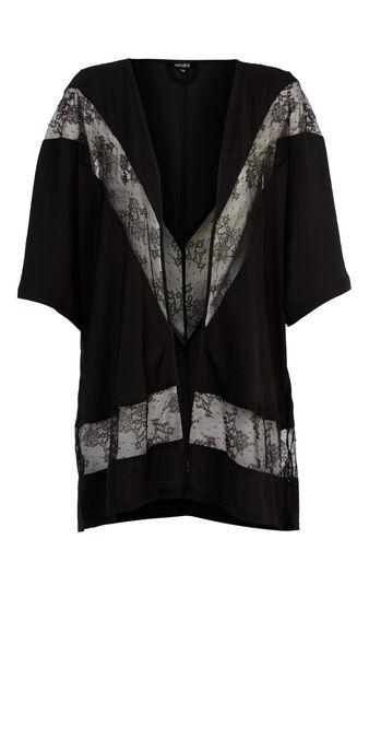 Kimono negro enticiz black.