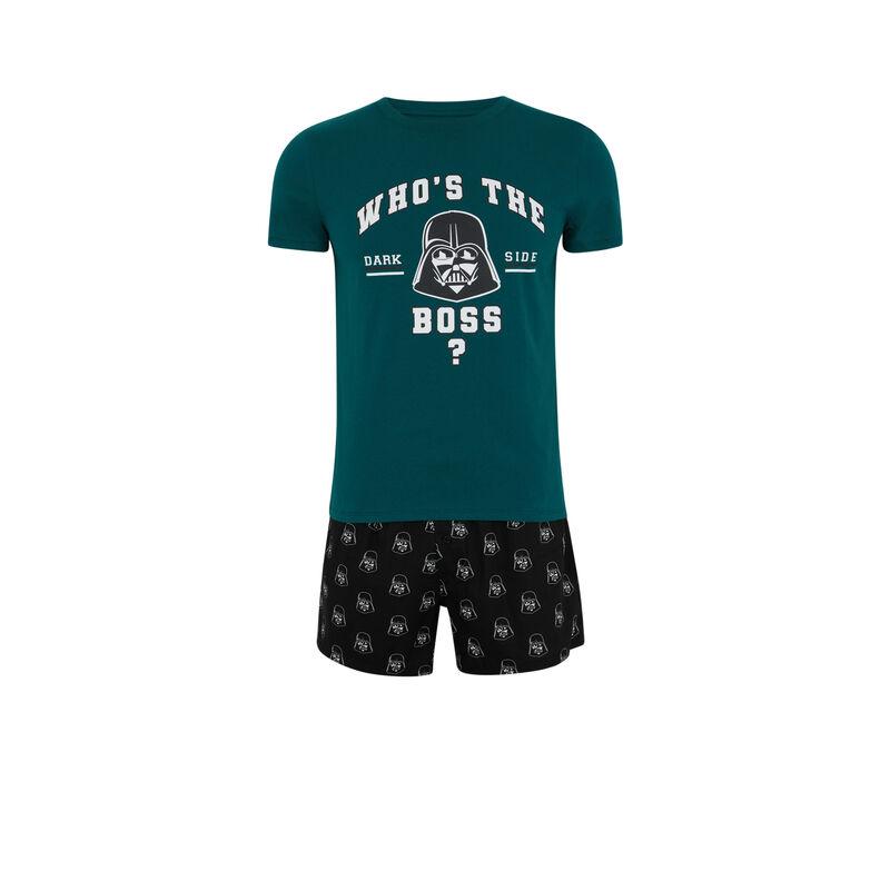 Conjunto de pijama top + calzón licencia Star Wars darthbossiz;