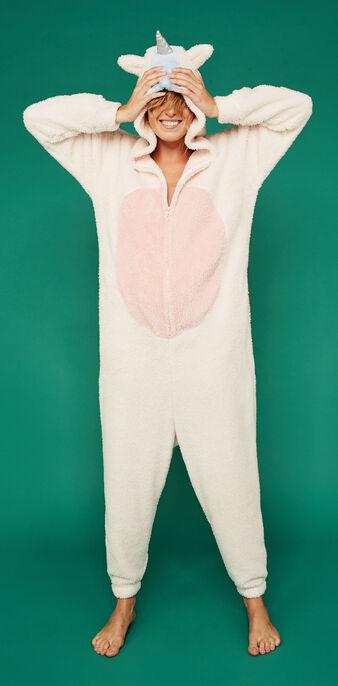 Mono largo rosa claro licorneiz pink.