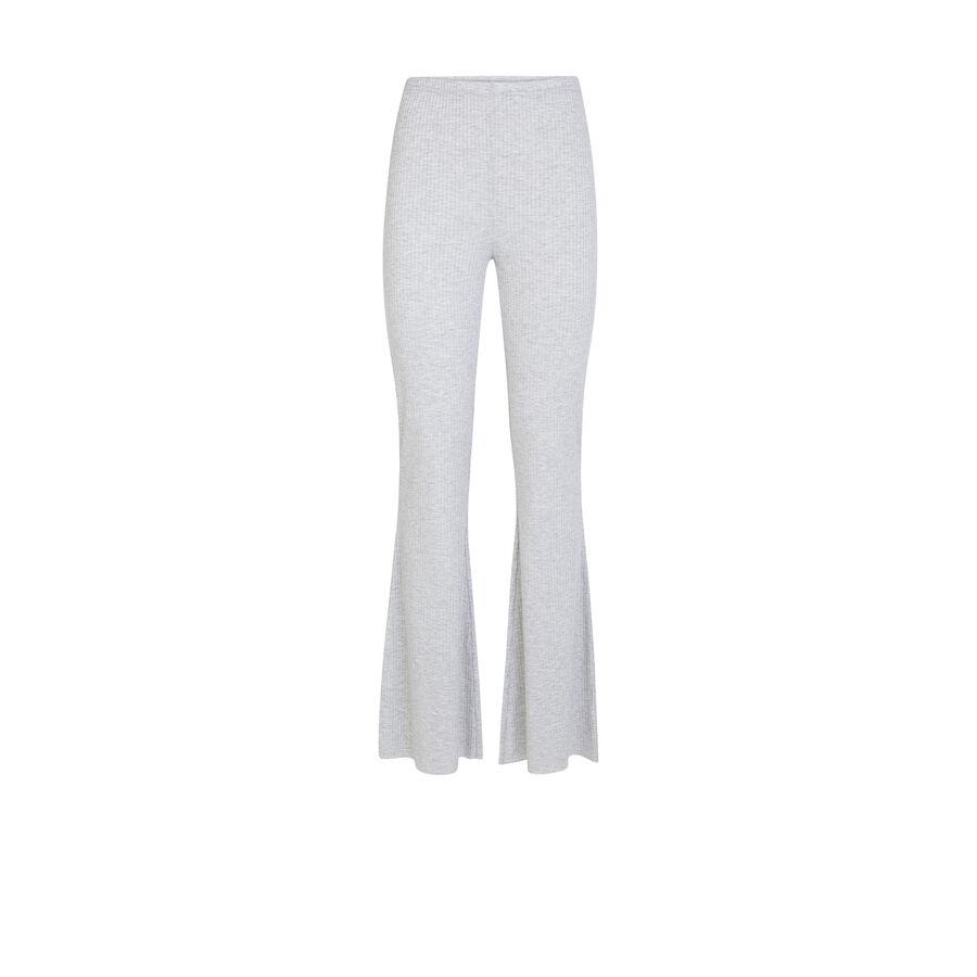Pantalón gris flariz;${refinementColor}