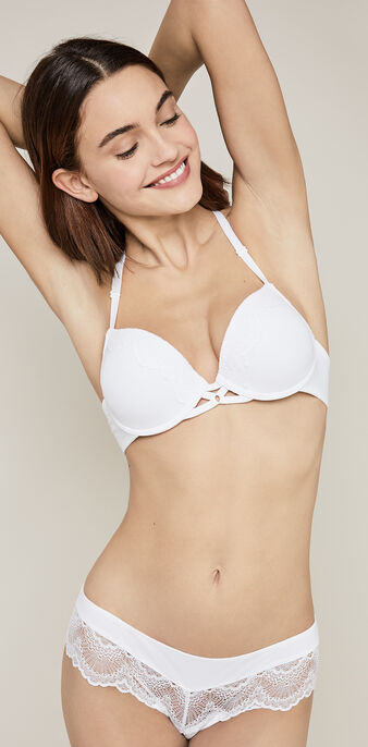 Sujetador gel bra blanco juiciz white.