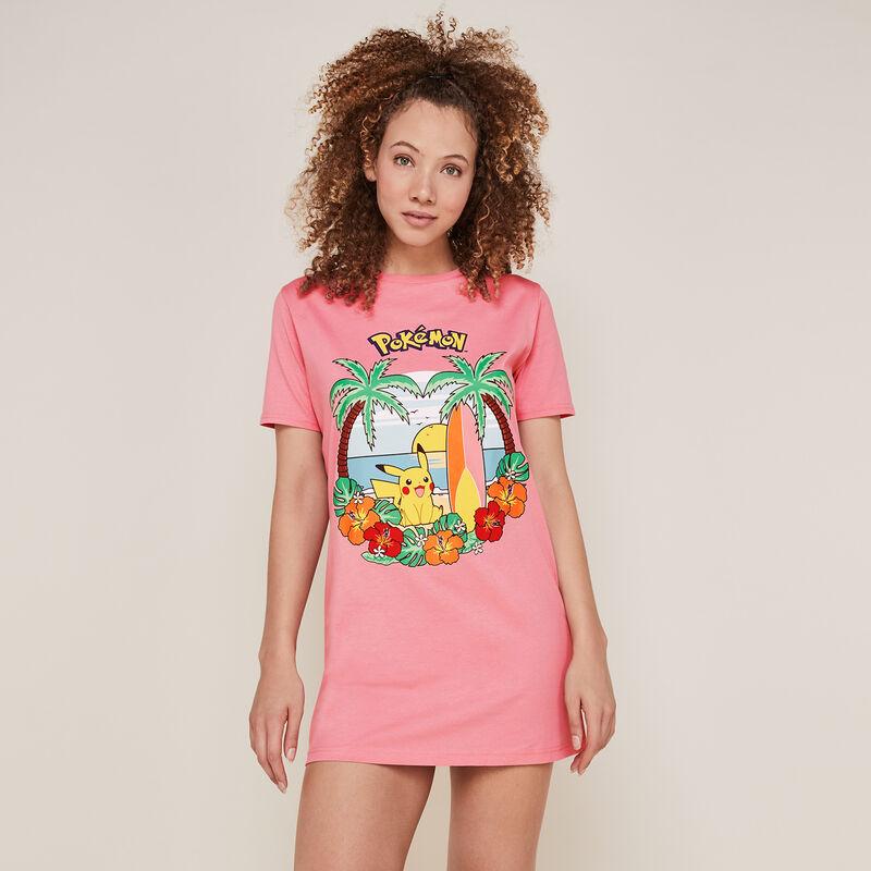 Túnica de pikachu - rosa;