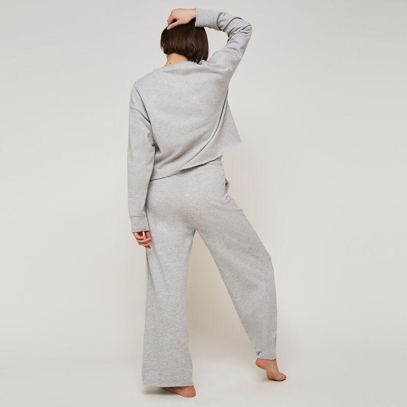 Pantalón ancho liso longpapiz;
