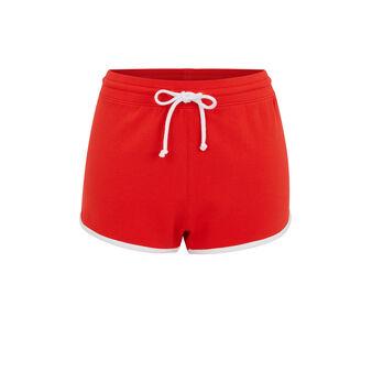 Shorts rojos cocacoliz red.