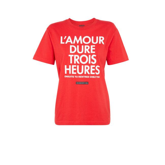 Camiseta rojo tendresiz;