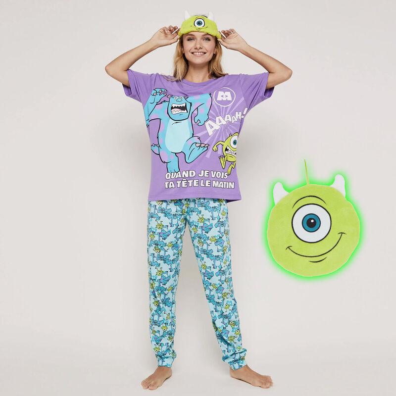 Conjunto de pijama top + pantalón estampado Monstruos, S.A. mycrewiz;