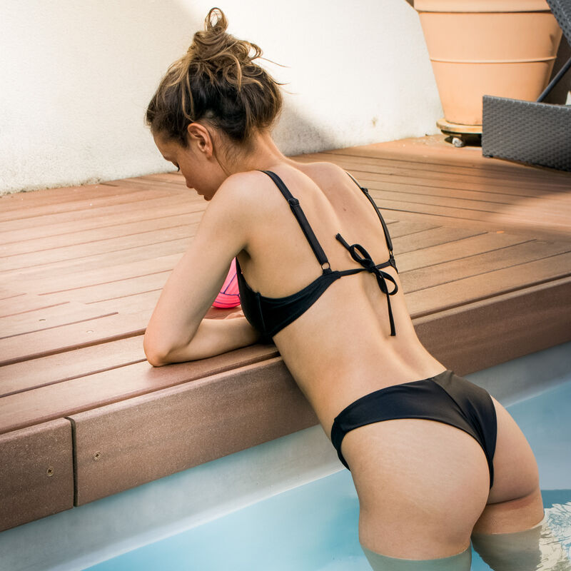 parte de arriba de bikini corbeille - negro;