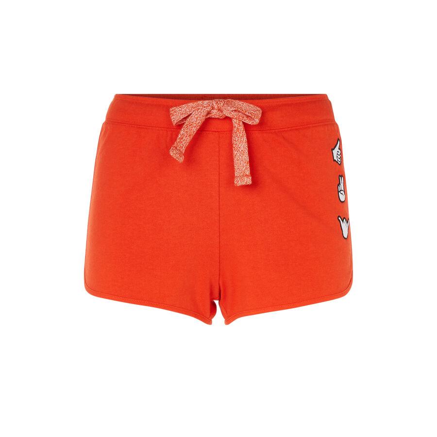 Short naranja goodvibiz;