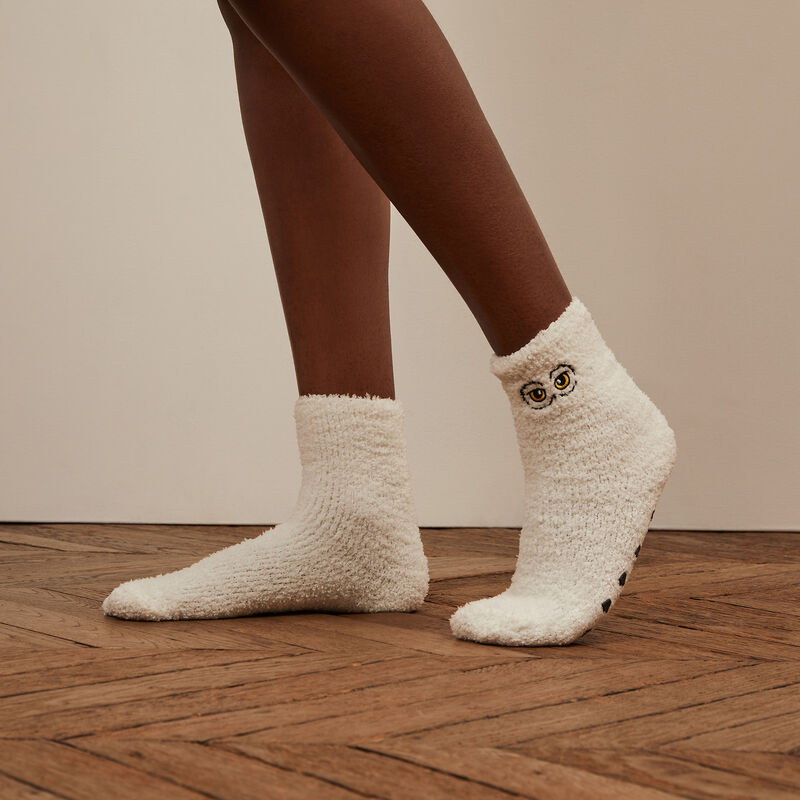 calcetines Hedwig - blanco;