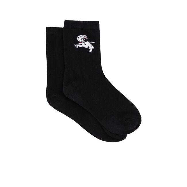 Calcetines negros dalmasiz;