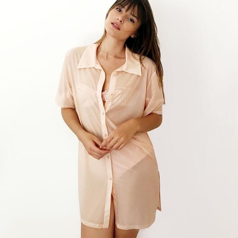 Camisa fluida iridiscente - rosa;