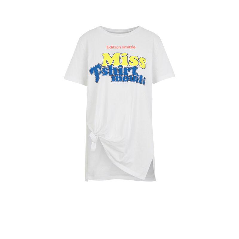 Camiseta blanca mouilliz;