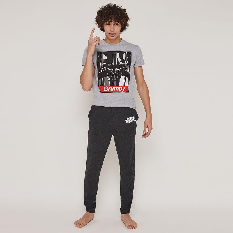 Conjunto de pijama top + pantalón licencia Star Wars engdarthbossiz;