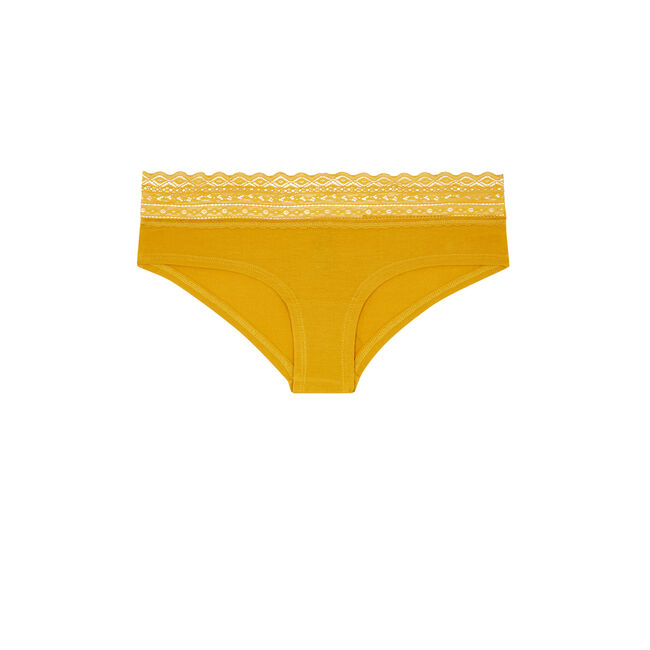 Braguita culotte amarillo mostaza waistiz;