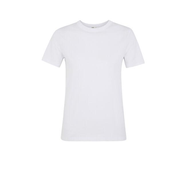 Camiseta blanca bavardiz;