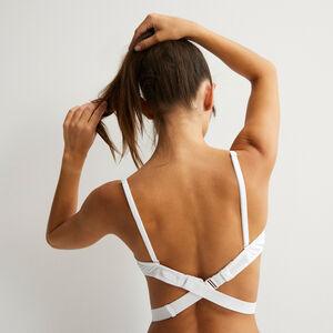 Tira blanca para espaldas escotadas strapiz