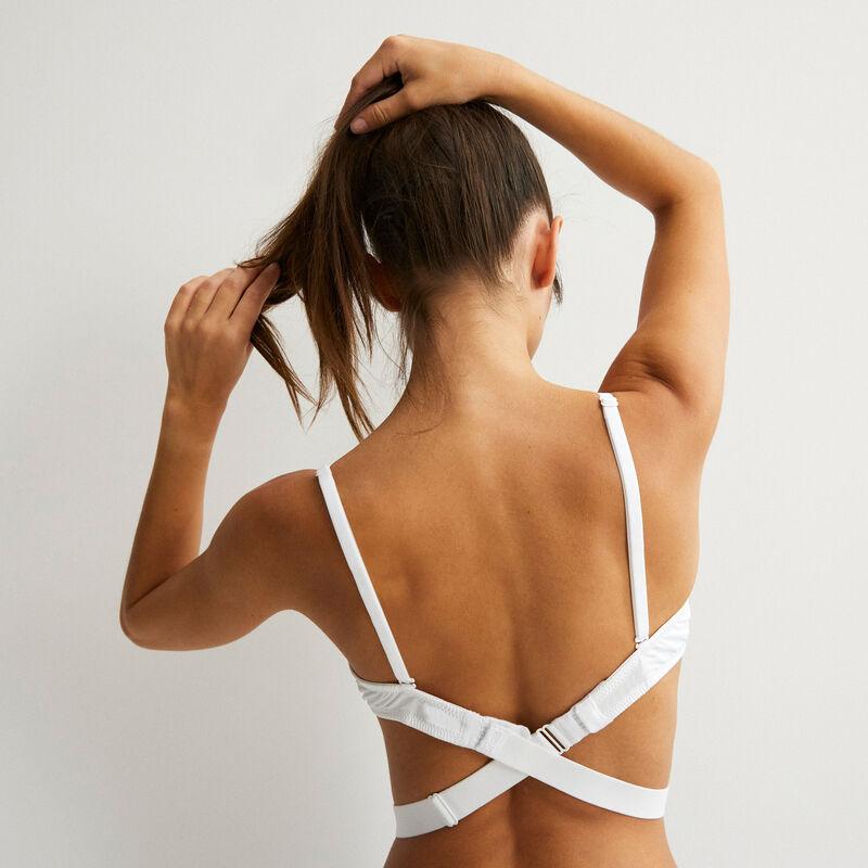 Tira blanca para espaldas escotadas strapiz ;