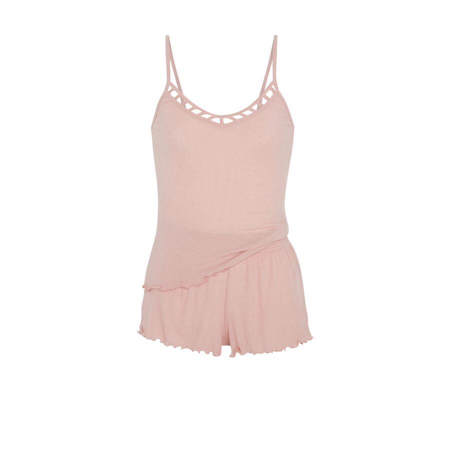 Conjunto de pijama rosa claro quadiz;${refinementColor}