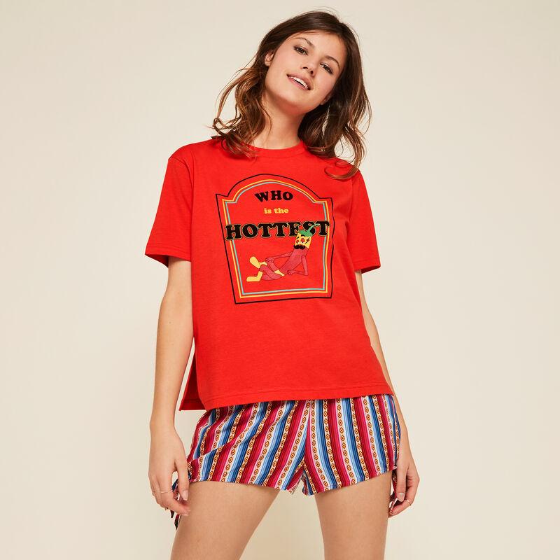 Shorts multicolores rayshortiz;