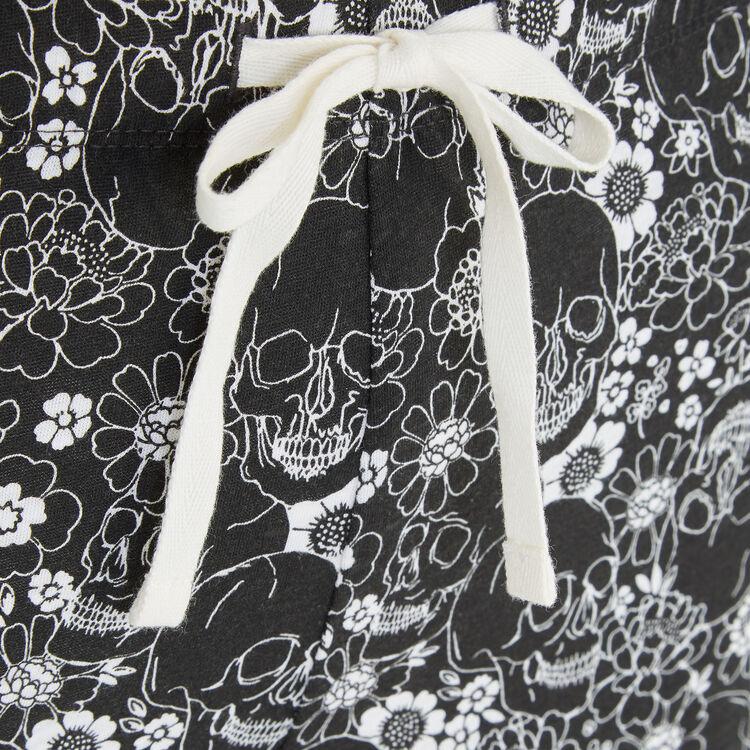 Pantalón negro squeflowiz;