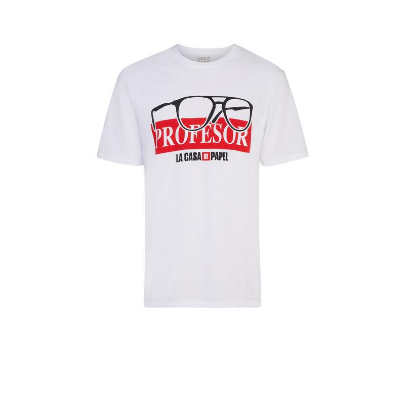 Camiseta de La Casa de Papel - blanca;