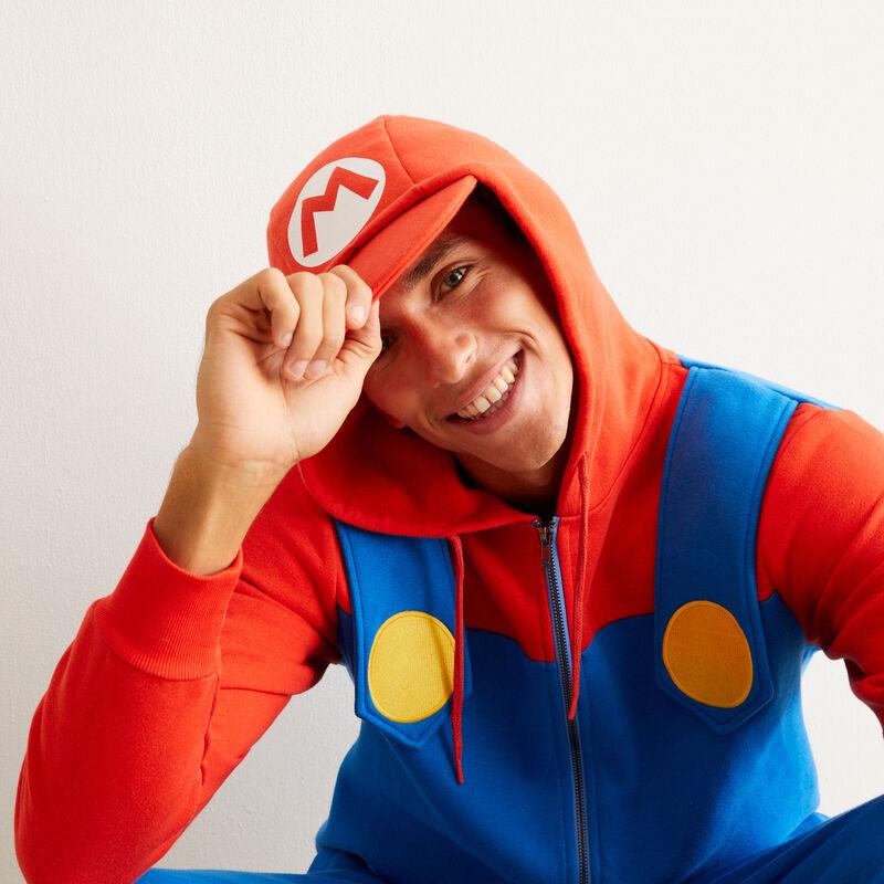 Mono Mario - azul;
