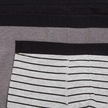 Lote de tres bóxers gradientiz black.