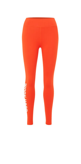 Legging naranja wordingiz orange.