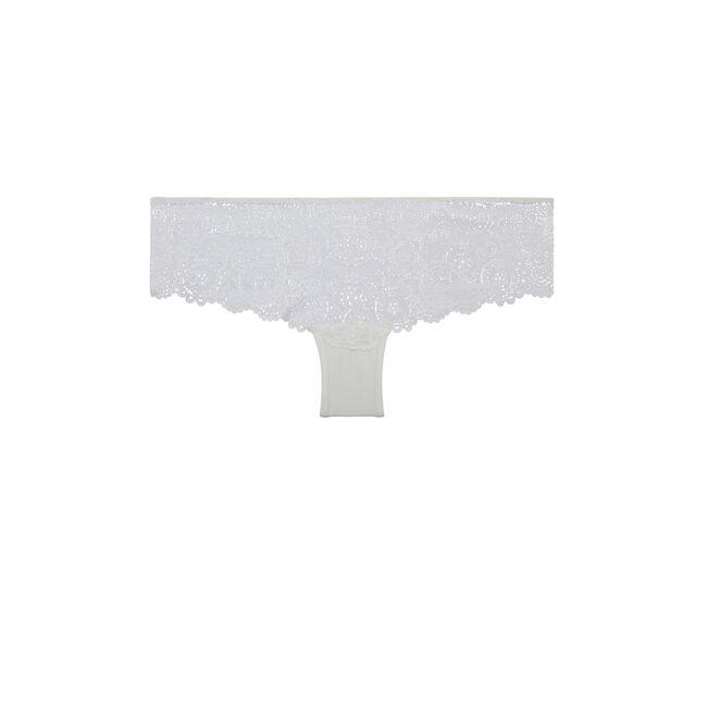 Braguita culotte blanca milianiz;