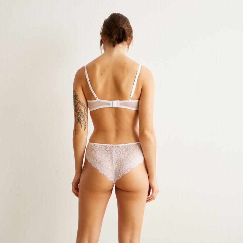 Braguita culotte blanca Everydayiz;