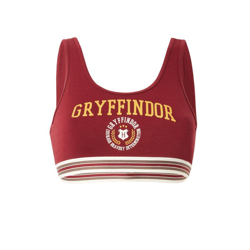 sujetador con estampado Gryffindor - burdeos;