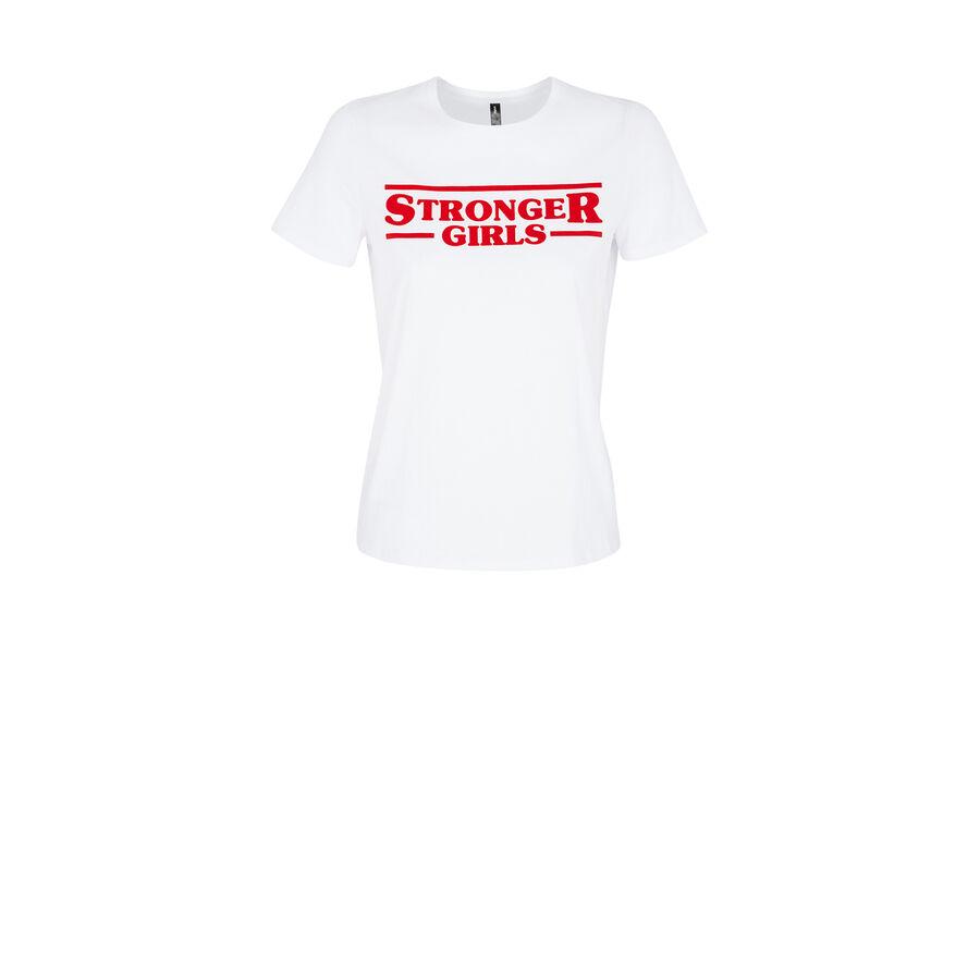 Top blanco strongeriz;