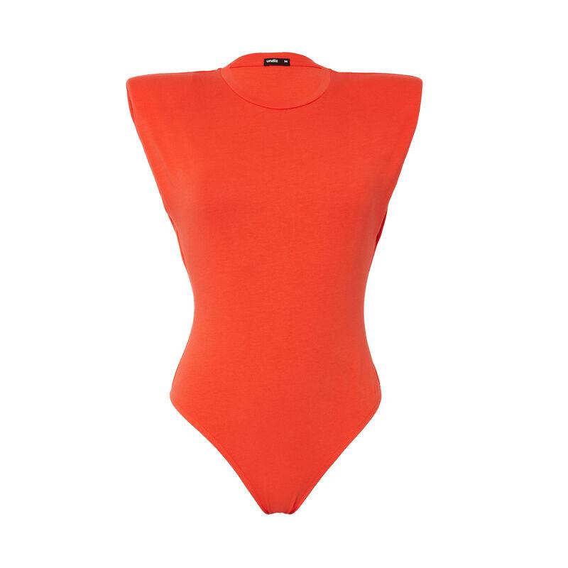 Body efecto top - coral ;