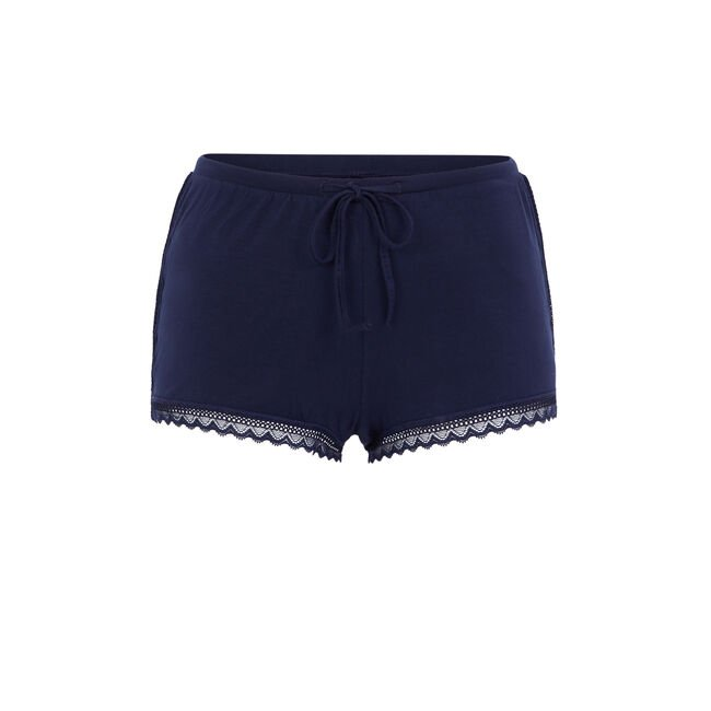 Short azul vitamiz;