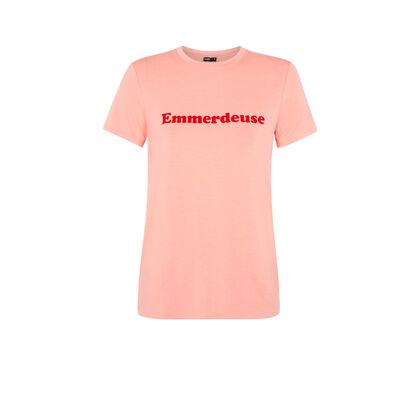 Camiseta rosa emmerdeusiz pink.