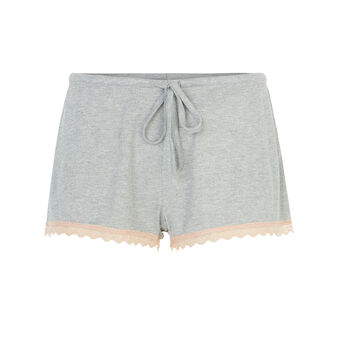 Short gris claro luvitamiz grey.