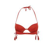Top de bikini push rojo teja islandiz rot.