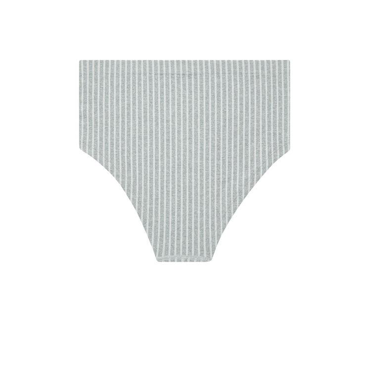 Braguita de cintura alta gris lareiz;