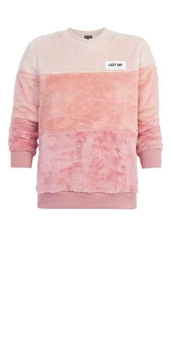 Sudadera rosa lazydiz pink.
