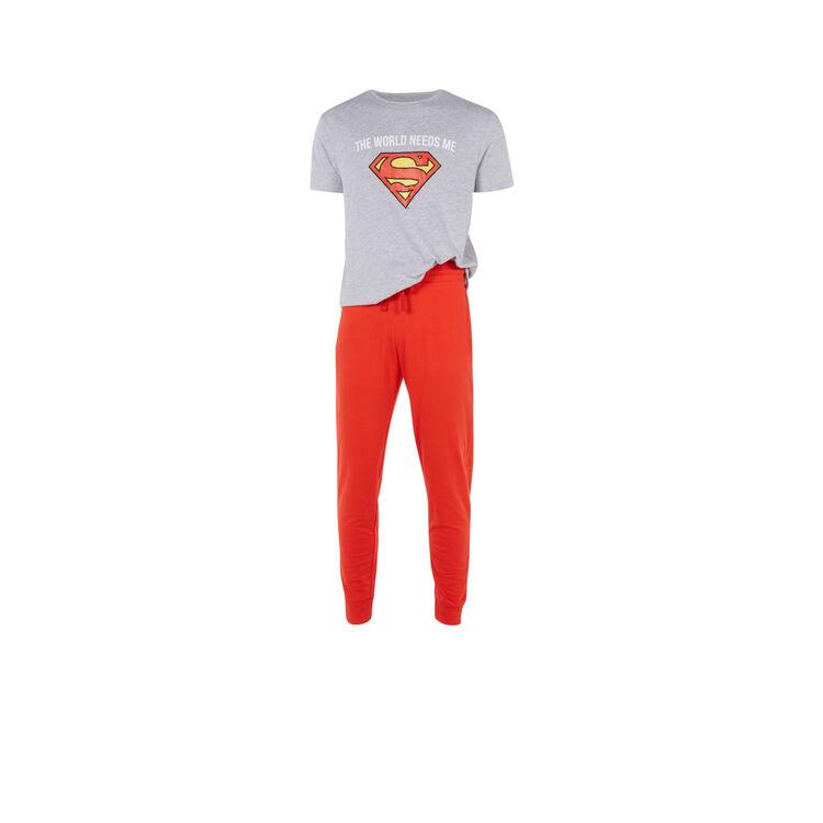 Conjunto de pijama gris para hombre needsiz;