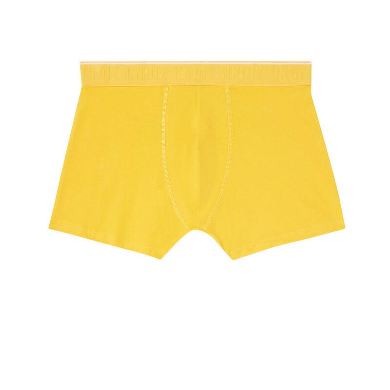 bóxer con mensaje píllame - amarillo;