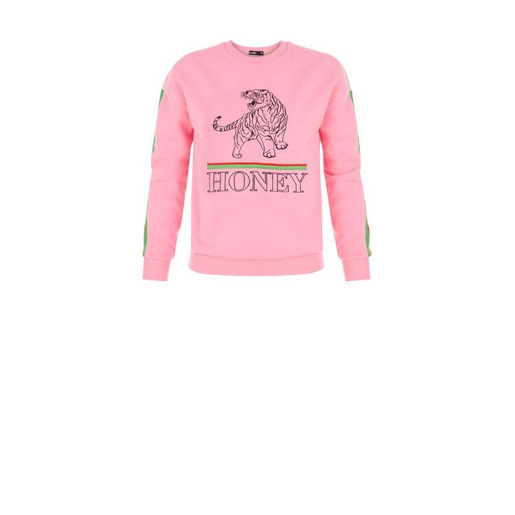 Sudadera rosa flúor pinkbadiz;