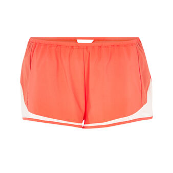 Short coral sorbetiz red.