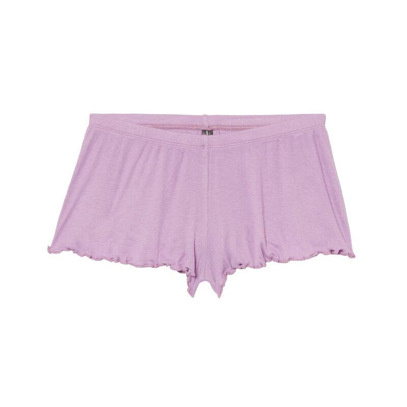 Shorts cortos - morado;