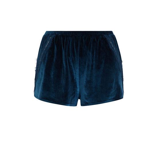 Short azul pavo real velcroisiz;