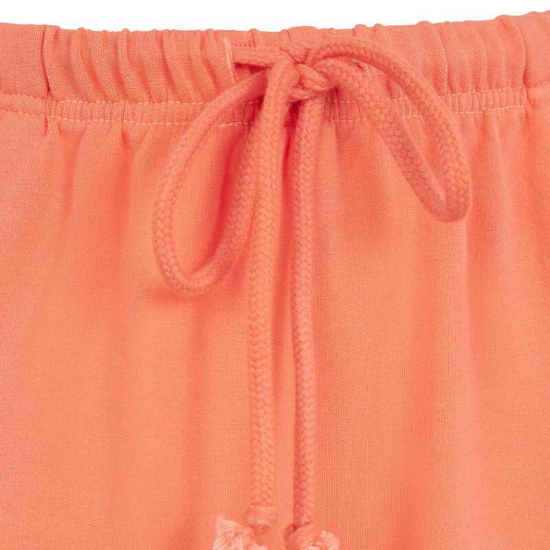 Short de muletón - naranja ;