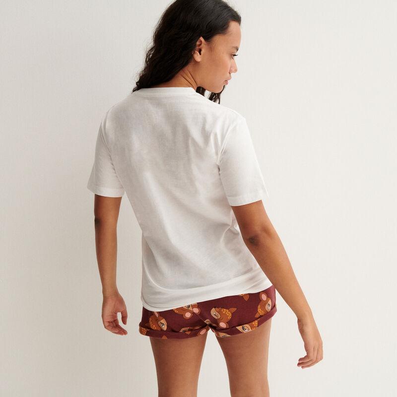 Camiseta de Bambi - blanca;