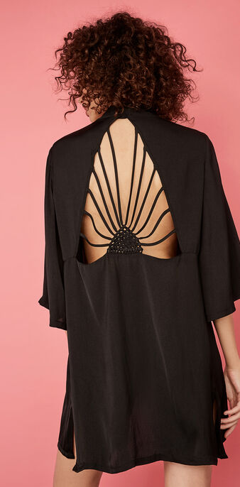 Kimono negro lovenightiz black.